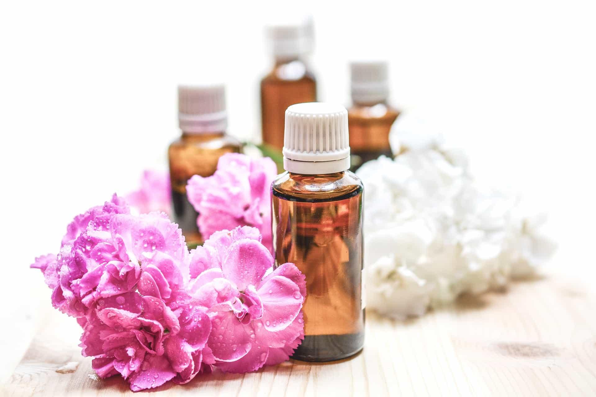 Ätherische Öle für zarte Haut